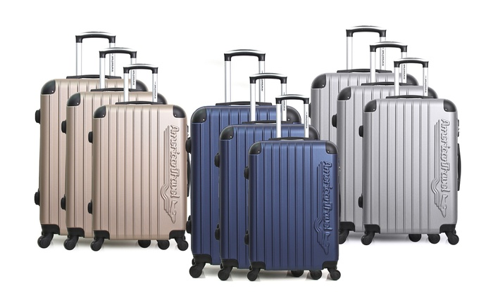 american travel valise