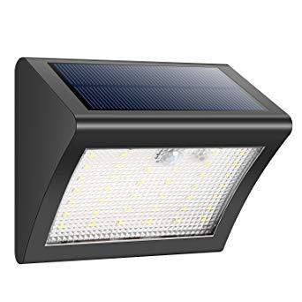 applique solaire exterieur