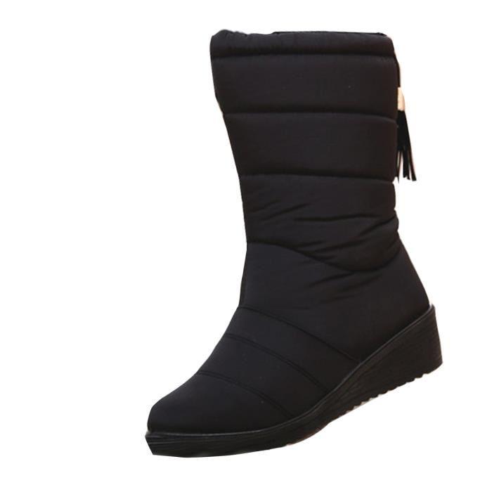 bottes de neige femme