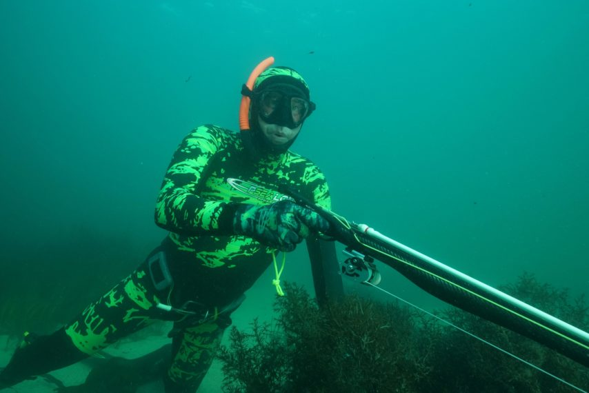 chasse sous marine