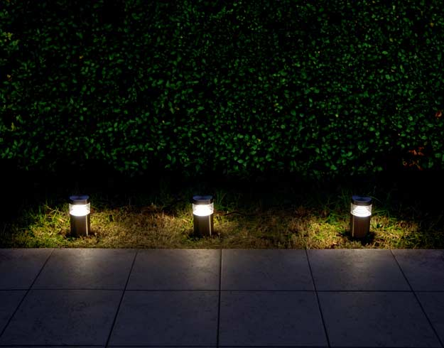 Éclairage Extérieur Solaire Jardin 4 LED Easternstar Pont 12 ...