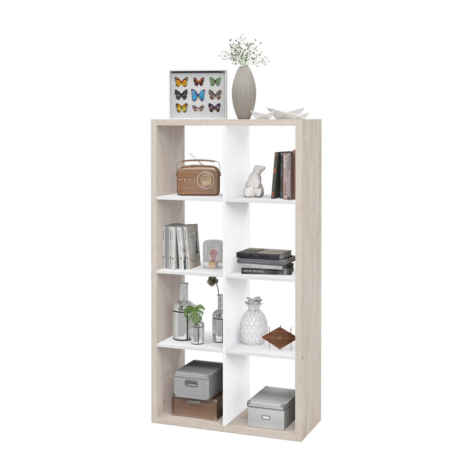 etagere 8 cases