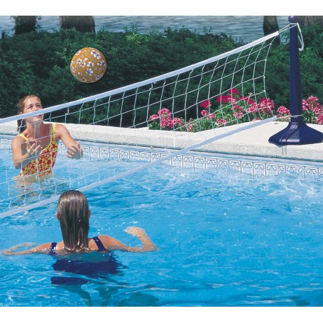 filet volley piscine