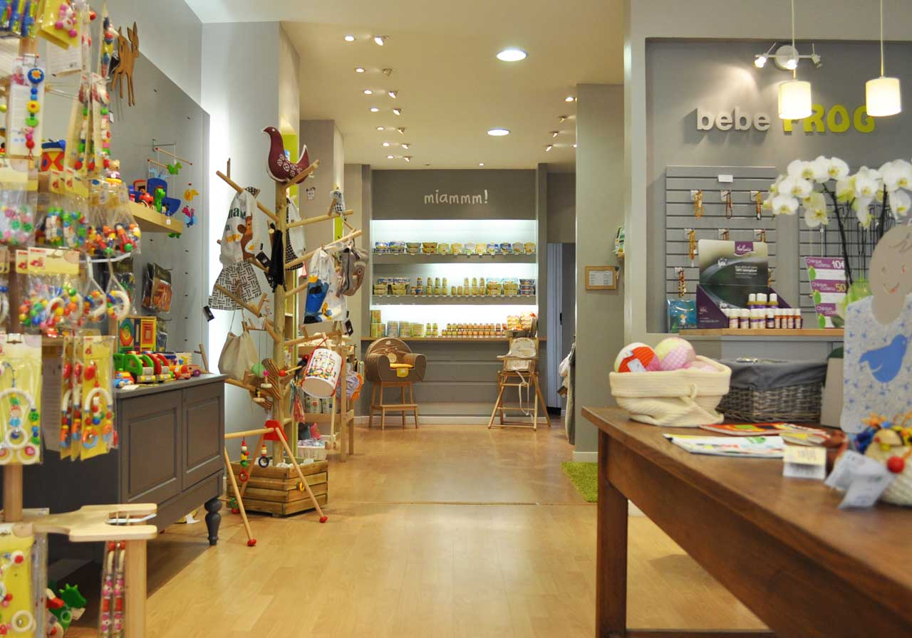 magasin pour bébé
