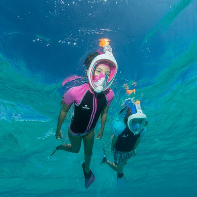 masque de snorkeling