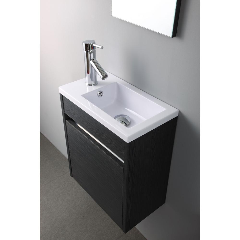 meuble lave main wc