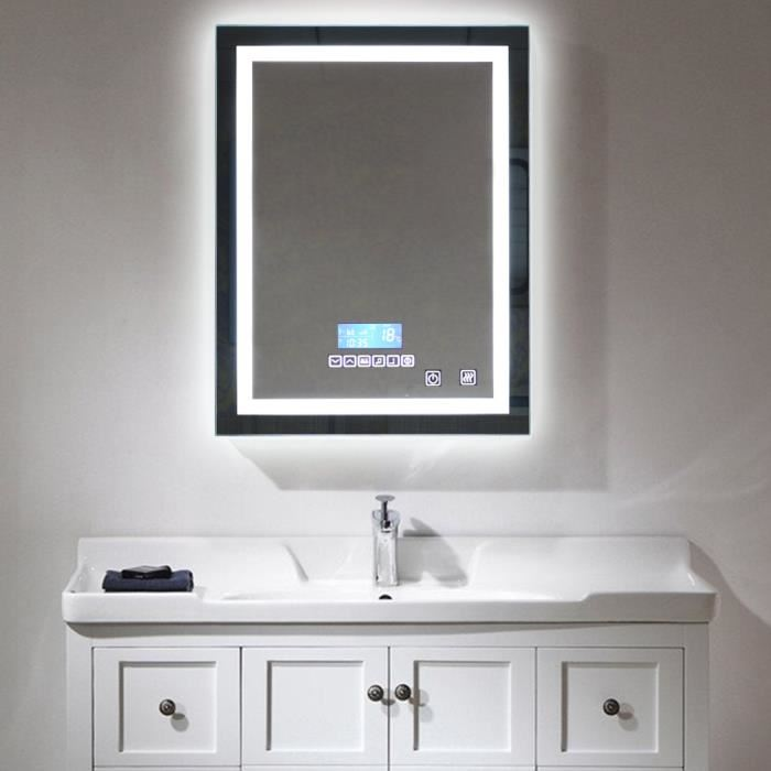 Charmant Miroir Salle De Bain Lumineux