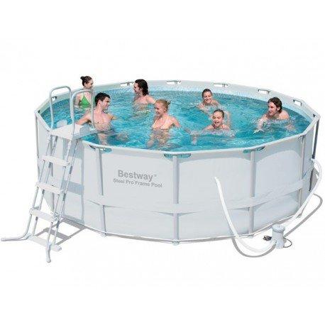 piscine tubulaire grise