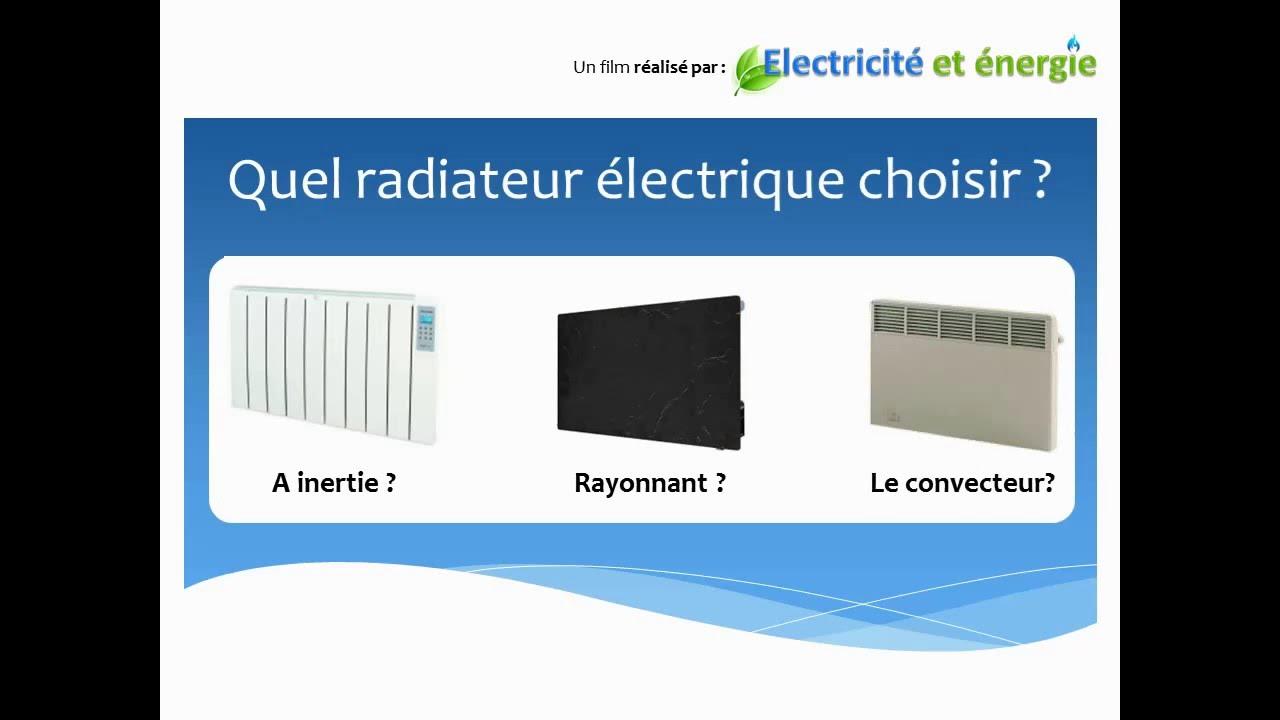 quel chauffage electrique choisir