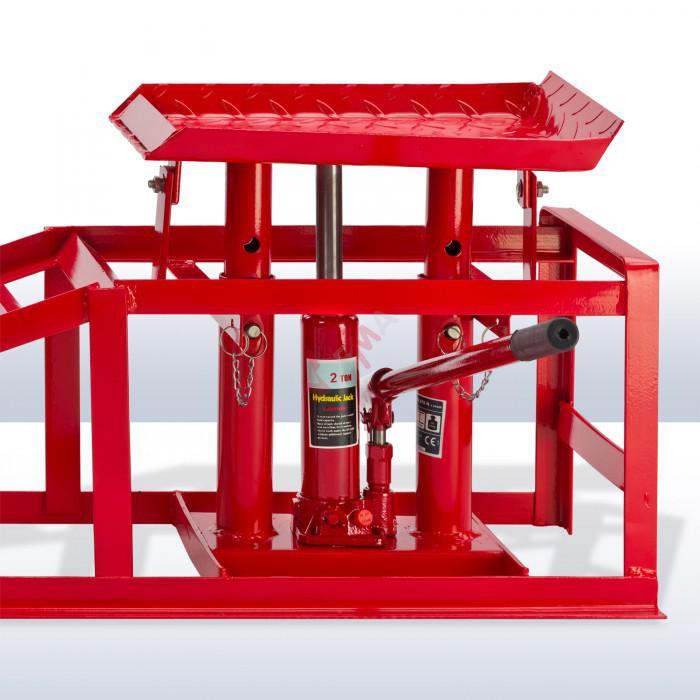 rampe de levage hydraulique