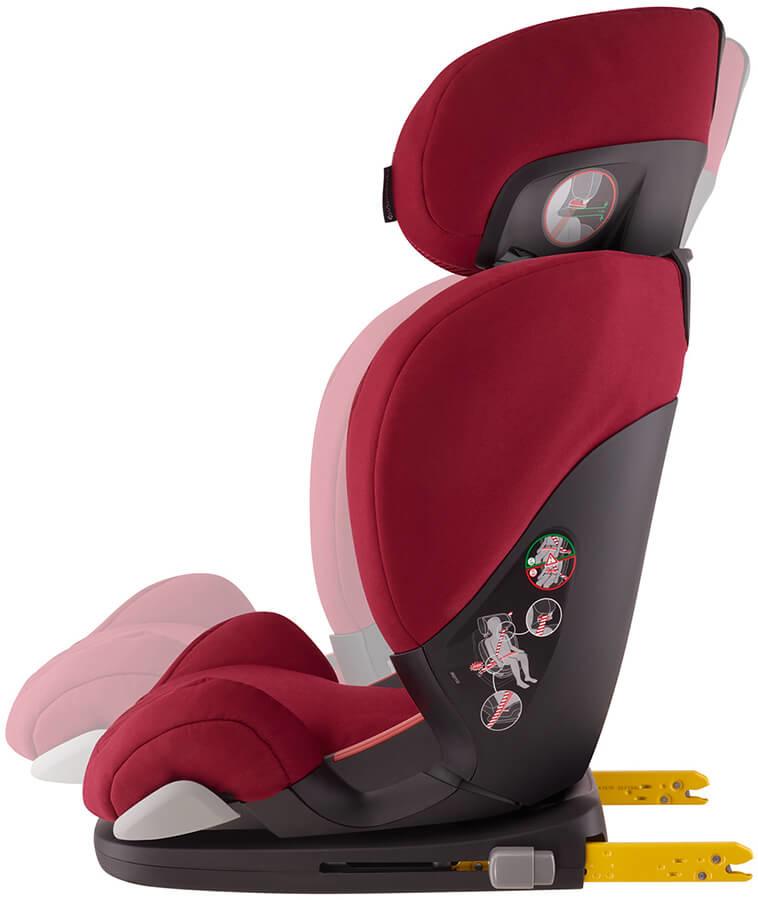 siège auto inclinable groupe 2 3