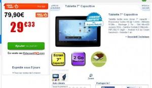 solde tablette