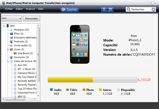 transferer photo iphone vers mac