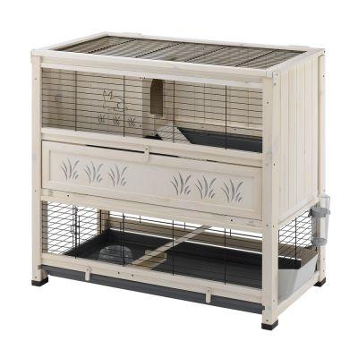 cage a lapin en bois