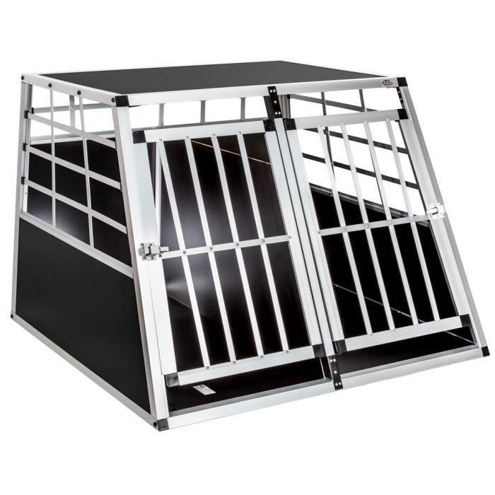 cage double pour chien