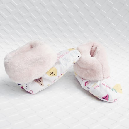 chaussons nouveau né