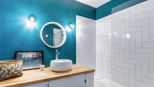 peinture salle de bain