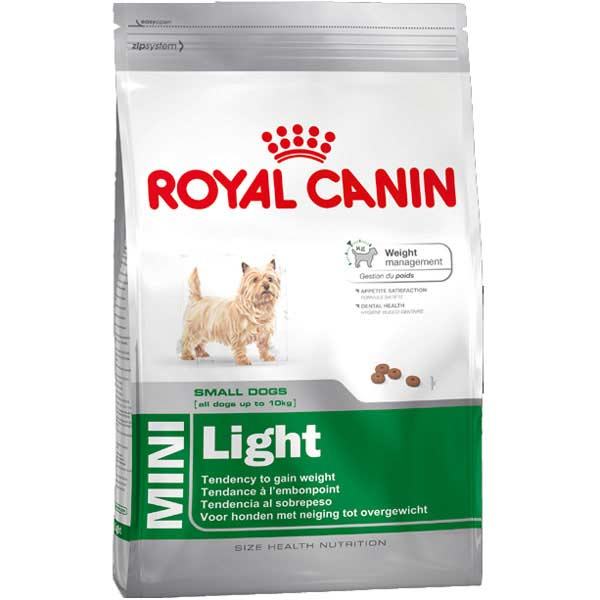 royal canin mini light 8kg