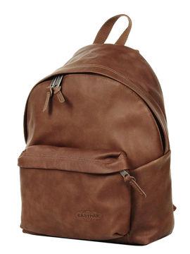 sac eastpak cuir marron