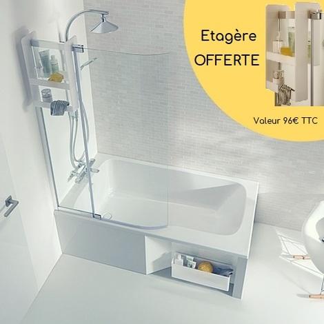 baignoire de douche