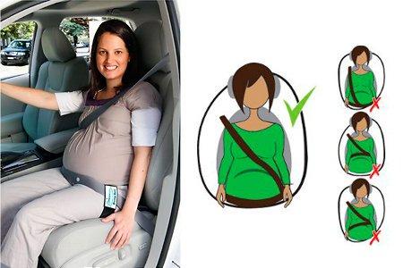 ceinture sécurité femme enceinte