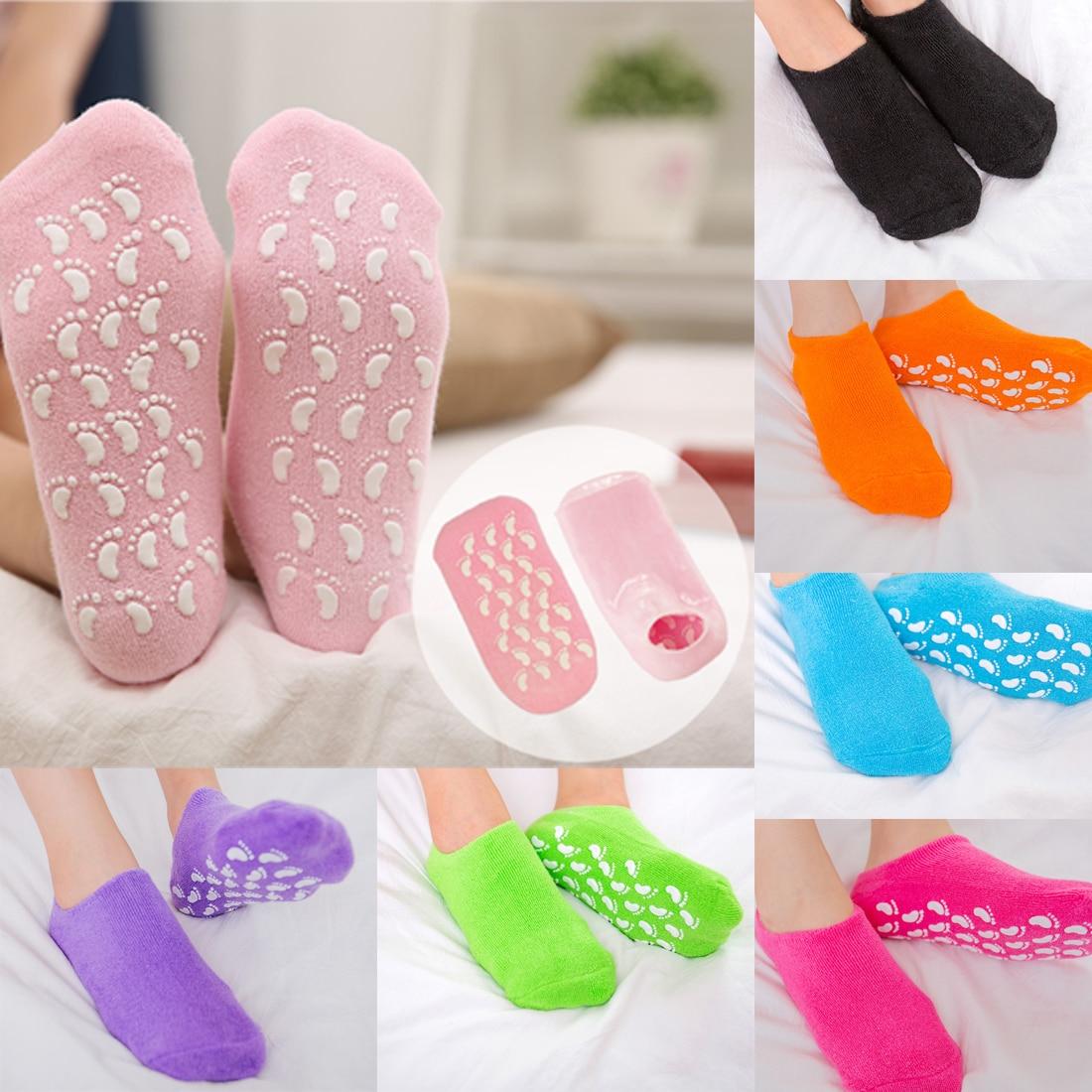 chaussettes hydratation pieds