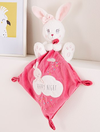 doudou fille rose