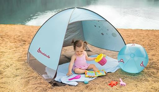 tente de plage pour bébé