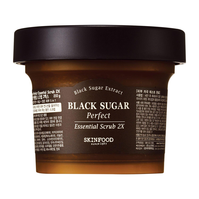 black sugar scrub
